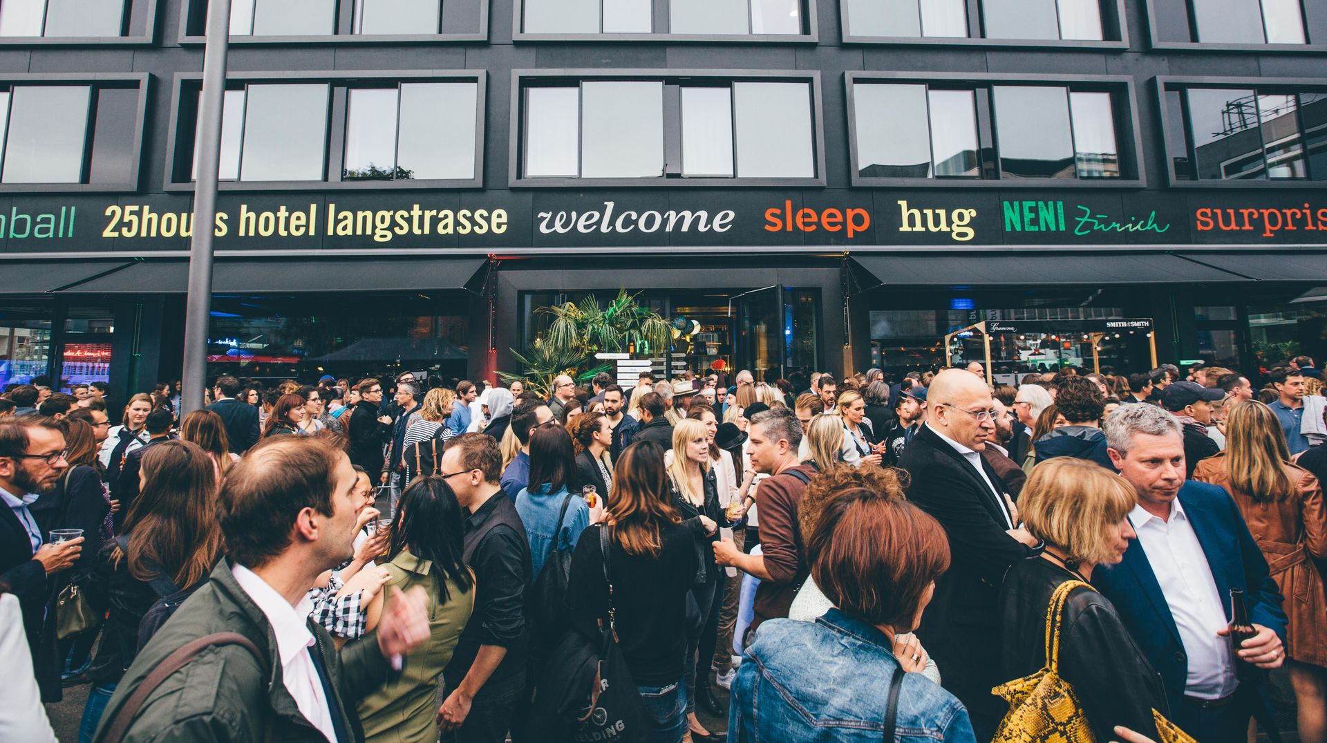 Opening at the Langstrasse